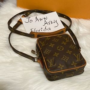 ‼️LV MINI DANUBE CROSSBODY MONOGRAM‼️